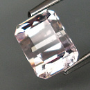 Morganit Oktagon Pink 7.8x6x5mm 1.80ct