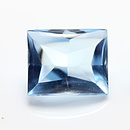 Topas Baguette Sky Blue 8x6mm 2.20ct BT