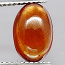 Hessonit Oval Cabochon Orange 10.5x7.1x4.0mm 3.02ct