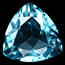 Triangle Topas SkyBlue 12x12x6.5mm 6.71ct