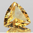 Triangle Citrin Gelb Medium 8x8mm 1.29ct