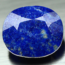 Lapislazuli Oval Blau 15.6x13.6x8.0mm 10.75ct