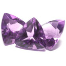 Triangle Amethyst Lila 7x7mm 0.85ct