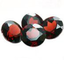Runder Granat Rot 5.0mm 0.45ct