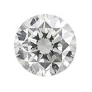 Runder Diamant 0.009ct VVS E/River 1.20x1.20mm