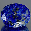 Lapislazuli Oval Royalblau 17.6x14.6x8.7mm 15.82ct