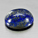 Lapislazuli Oval Royalblau 22x17.6x10.5mm 32.35ct