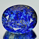 Lapislazuli Oval Royalblau 27x22x14.4mm 58.26ct
