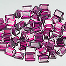 Oktagon Rhodolit Pink 6x4mm 0.65ct
