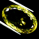 Ovaler Quarz Lemon 26x17x10.3mm 32.89ct