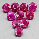 Runder Rubin Pink 2.8x2.8x1.5mm 0.11ct