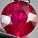Runder Rubin Rot-Pink 3.00mm 0.151ct