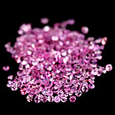 Runder Saphir Pink 1.1mm 0.008ct