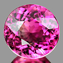 Runder Turmalin Pink 4.5x4.5x3.4mm 0.37ct