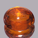 Spessartin Oval ORANGE 8.5x7x4.4mm 2.98ct