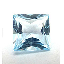 Square Topas Sky Blue 4x4mm 0.44ct PC