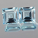 Square Topas Skyblue 5x5mm 0.78ct