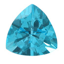 Triangle Topas Swiss Blue 3.0mm 0.1ct