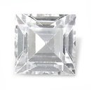 Square Topas Weiss 2x2mm 0.046ct