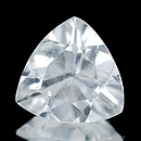 Triangle Aquamarin Weiss 8x8x4mm 1.20ct