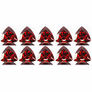 Triangle Granat Rot 3x3mm 0.15ct