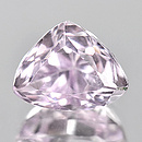 Triangle Kunzit Pink 10x8x7.7mm 3.58ct