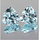 Triangle Topas Skyblue 8x8mm 2.17ct
